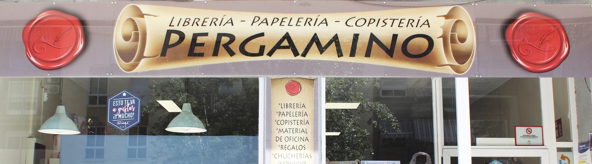 PAPELERÍA LIBRERÍA PERGAMINO