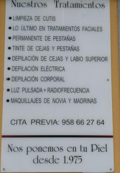 Salón de Belleza Mari Carmen Valero, Corsetería, Lencería, Alta Cosmética