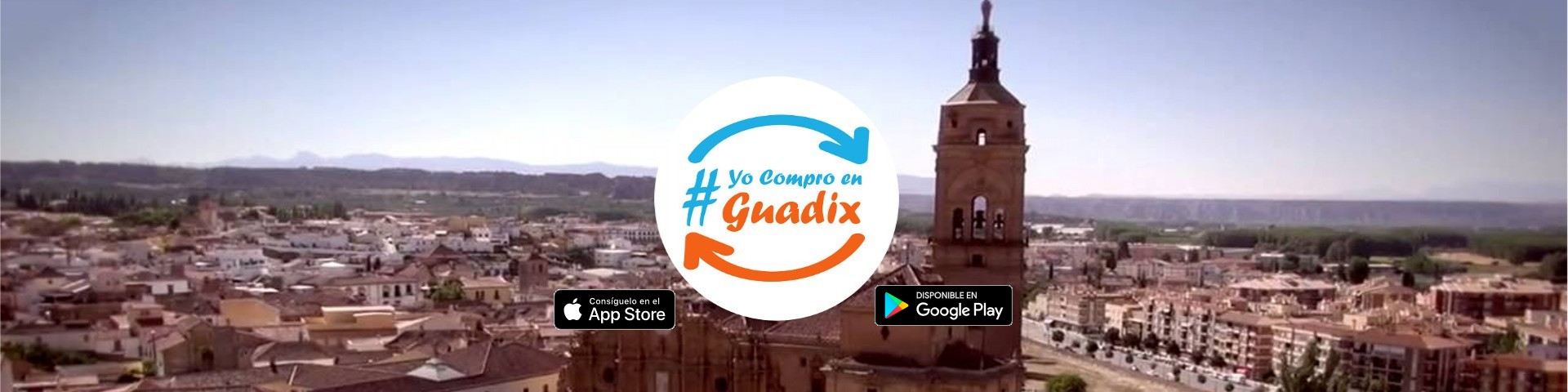 App de #yocomproenguadix ya disponible para descargar desde Android e IOS